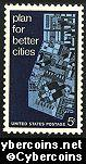 Scott 1333 mint sheet 5c (50) -   Urban Planning
