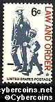 Scott 1343 mint sheet 6c (50) -   Law and Order