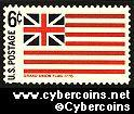 Scott 1352 mint  6c -   Grand Union Flag