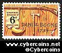 Scott 1357 mint sheet 6c (50) -   Daniel Boone