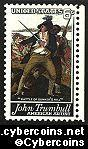 Scott 1361 mint  6c -   Trumbull Art