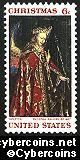 Scott 1363 mint  6c -   Christmas 1968