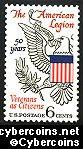 Scott 1369 mint  6c -   American Legion 50 Years