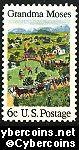 Scott 1370 mint sheet 6c (50) -   Grandma Moses