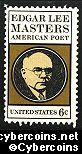 Scott 1405 mint sheet 6c (50) -   E.L. Master - Poet