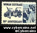 Scott 1406 mint sheet 6c (50) -   Woman Suffrage 50th Anniversary