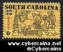 Scott 1407 mint  6c -   South Carolina Tercentenary