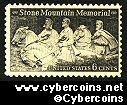 Scott 1408 mint  6c -   Stone Mountain Memorial