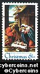 Scott 1414A mint  6c -   Nativity Precancelled