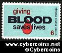 Scott 1425 mint  6c -   Blood Donors
