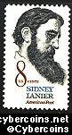 Scott 1446 mint sheet 8c (50) -   Sidney Lanier - Poet