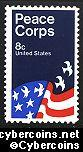 Scott 1447 mint sheet 8c (50) -   Peace Corps