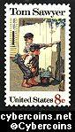 Scott 1470 mint  8c -   Tom Sawyer - Folklore