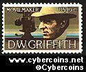 Scott 1555 mint  10c -   D.W. Griffith - Arts