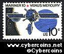 Scott 1557 mint sheet 10c (50) -   Mariner 10