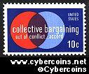 Scott 1558 mint  10c -   Collective Bargaining
