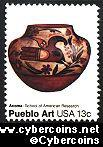 Scott 1709 mint 13c -  Pueblo Art - Acoma