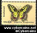 Scott 1712 mint 13c -  Butterflies - Swallowtail