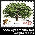 Scott 1766 mint 15c -  Trees - White Oak