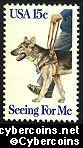 Scott 1787 mint sheet 15c (50) -  Guide Dog