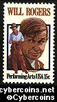 Scott 1801 mint sheet 15c (50) -  Will Rogers