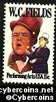 Scott 1803 mint sheet 15c (50) -  W.C. Fields