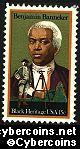 Scott 1804 mint sheet15c (50) -  Benjamin Banneker