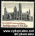Scott 1838 mint 15c -  American Architecture - Smithsonian Inst.