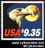 Scott 1909 mint $9.35 -  Eagle & Moon