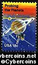 Scott 1916 mint 18c -  Space Achievement - Probing the Planets