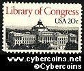 Scott 2004 mint 20c -  Library of Congress