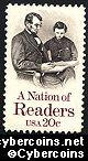 Scott 2106 mint sheet 20c (50) - A Nation of Readers