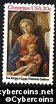 Scott 2107 mint sheet 20c (50) - Madonna & Child