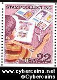 Scott 2199 mint 22c - Stamp Collecting - Collector with Album