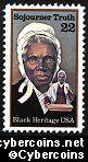 Scott 2203 mint sheet 22c (50) - Sojourner Truth
