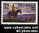 Scott 2401 mint 25c - Montana Statehood