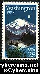 Scott 2404 mint 25c -  Washington Statehood