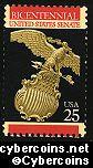 Scott 2413 mint 25c -  US Senate