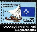 Scott 2507 mint 25c - Marshall Islands
