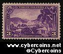 Scott 802 mint  3c - Virgin Islands