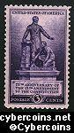 Scott 902 mint  3c - 75th Anniversary of the 15th Amendment to the Constitution
