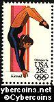 Scott C101 mint 28c - Summer Olympics - Women's Gymnastics