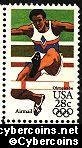 Scott C102 mint 28c - Summer Olympics - Hurdles