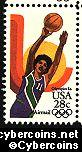 Scott C103 mint 28c - Summer Olympics - Women's Basketball