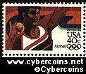 Scott C105 mint 40c - Summer Olympics - Shot Put