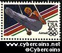 Scott C106 mint 40c - Summer Olympics - Men's Gymnastics