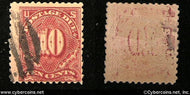 US #J36 Postage Due 10 Cent - Used -