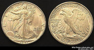 1941-S Walking Half Dollar, Grade= MS64