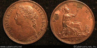 Great Britain, 1883, 1 farthing, AU, KM753