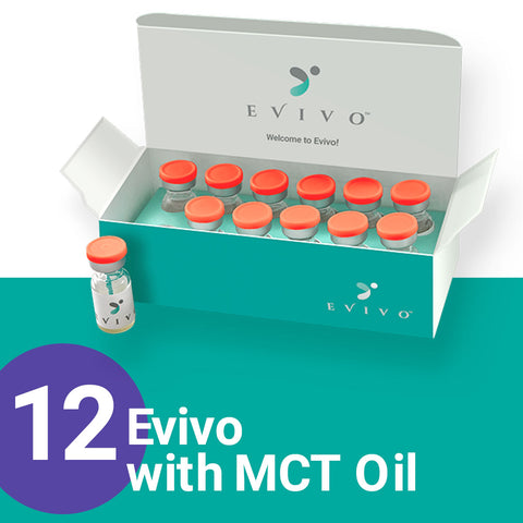 Evivo with MCT Oil, 12-count (NDC 86253-0100-15)